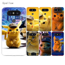 Uyellow Pocket Monsters Pikaches Case For LG G4 G5 G6 G7 V10 V20 V30 V40 Q6 Q7 Q8 Cover K8 K10 2018 Phone Shell 2017