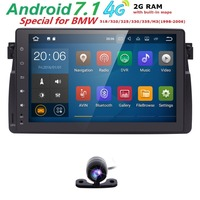Android 7.1 1 Din Car GPS Radio Car Multimedia NO DVD Player For BMW E46 M3 318/320/325/330/335 1998 2006 Head Unit Navi AudioBT