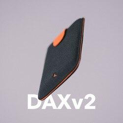 2018 Новое поступление DAX V2 Мини Тонкий Портативный держателей карт вытащил Дизайн Для мужчин кошелек градиент Цвет 5 карты, деньги короткие Д...