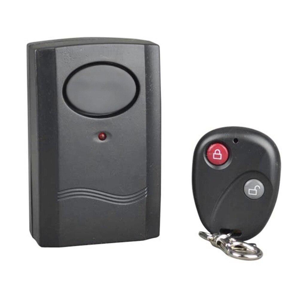 Sécurité à la maison sans fil télécommande Vibration moto voiture détecteur Anti-vol alarme système de sécurité 120dB vente chaude