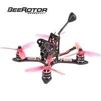 Promo BeeRotor Thunderbolt 190 40CH 5,8G FPV Racing Quadcopter Racer ARF Kit de DSHOT versión w/Motor ESC Cámara F3 conjunto Combinado AIO VTX