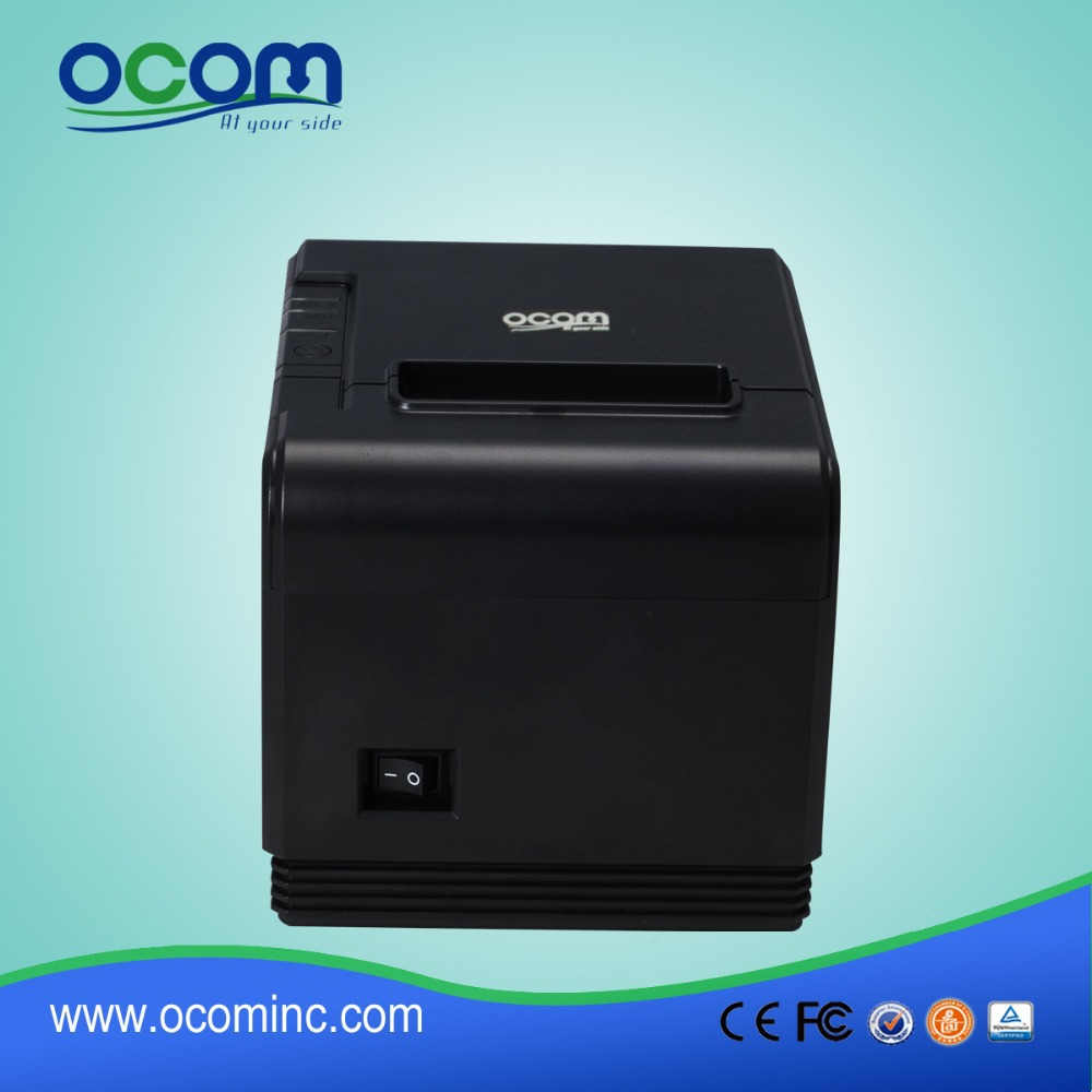 80mm Thermal Printer USB POS printer Receipt Priner With auto cutter OCPP-80L (USB)