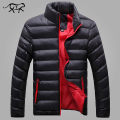 2017 New Brand Winter Jacket Men Cotton Wadded Coats Autumn Fashion Outerwear Casual Slim FIt Coats Men's Jackets Male M-4XL