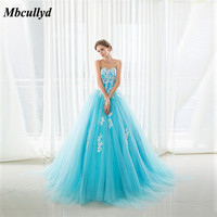 2019 Beach Wedding Bridesmaid Dresses Elegant Sweetheart Light Blue Plus Size Maid of Honor Party Gowns Cheap Vestidos de fiesta