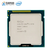 Intel Core i7 3770 Desktop Processor i7 3770 Quad Core 3.4GHz 8MB L3 Cache LGA 1155 Server Used CPU