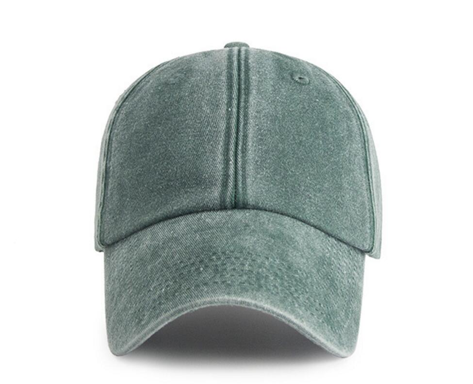 66c3e82f376 30pcs Retro Blank Washed Jean Cotton Baseball Caps for Men Spring Autumn  Women Plain Soft Base