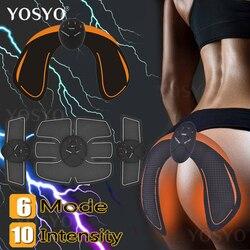 EMS entrenador de cadera inteligente nalgas de elevación de la cintura adelgazante EMS estimulador muscular ABS Buttock masajeador más apretado