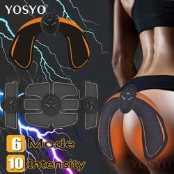EMS inteligente entrenador de cadera nalgas que levantan la cintura adelgazante EMS estimulador de músculos ABS masajeador de glúteos más apretado