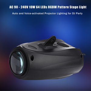 Image 2 - שלב אור דיסקו לייזר מקרן 64LED DJ ביצועי נשף חג המולד קישוטים לבית DMX בקר המפלגה strobe מנורה