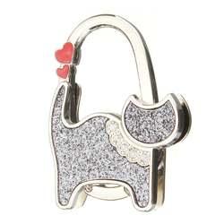 Красивый Кот компактный держатель сумки крючок держатель для сумок белый