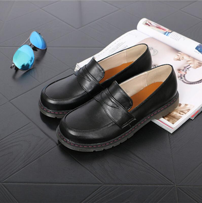 <font><b>Lolita</b></font> <font><b>shoes</b></font> Japanese style Girl <font><b>shoes</b></font> JK Cosplay 33-42size image