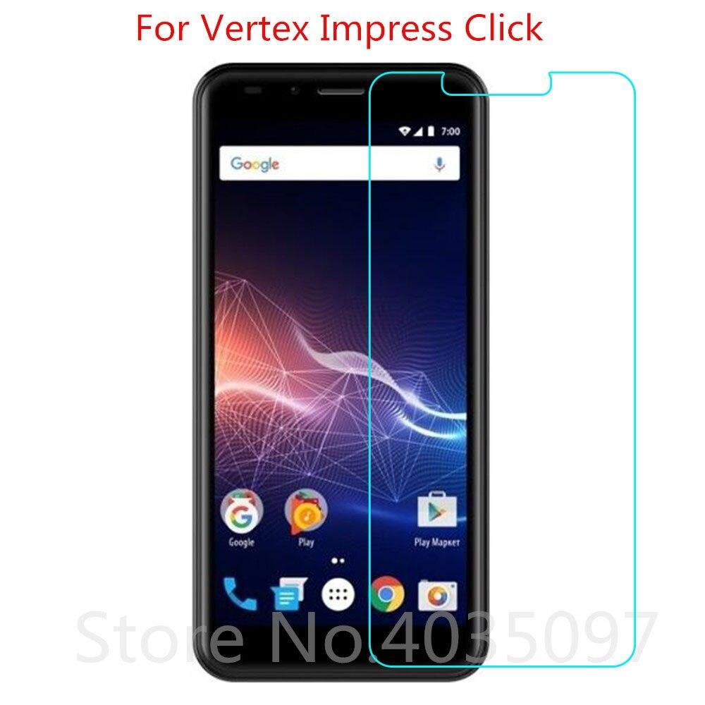 Levendig 2 Pcs Gehard Glas Voor Vertex Impress Klik Screen Protector Telefoon Beschermende Glas Voor Vertex Impress Klik Gehard Glas 100% Origineel