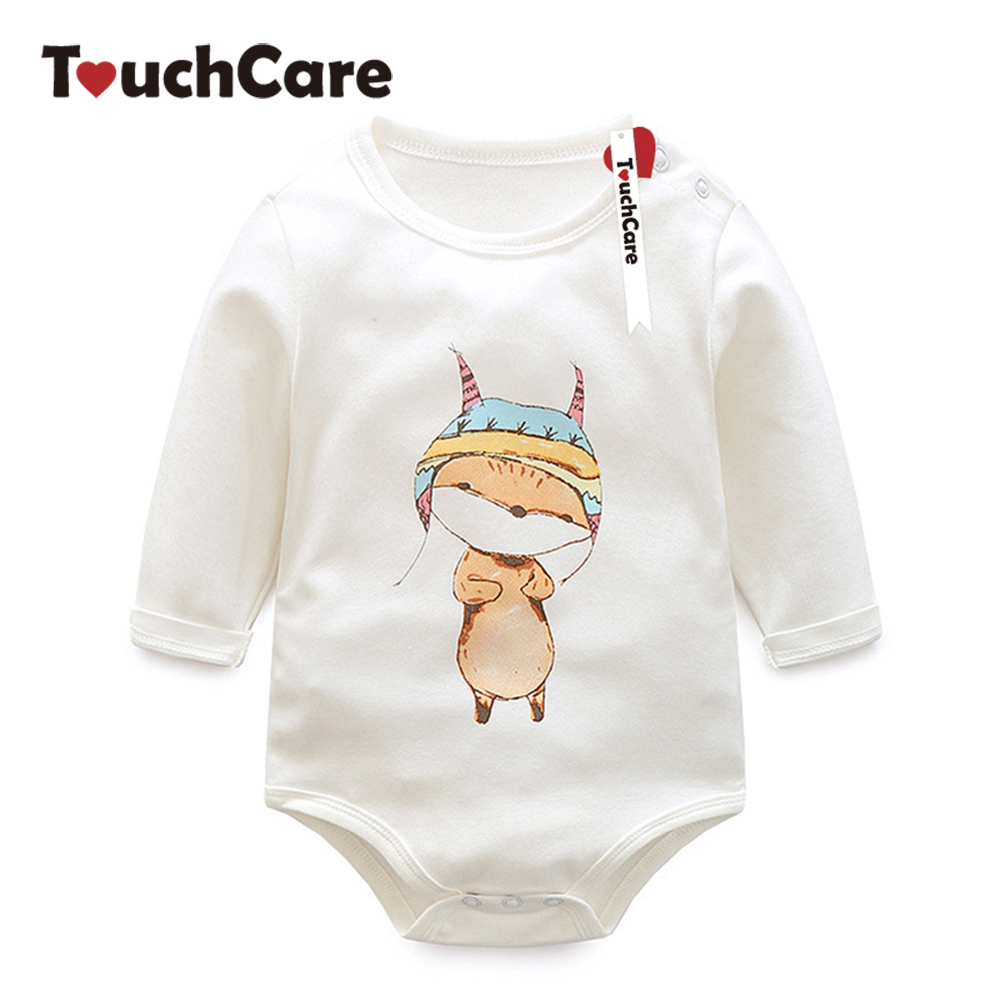 Infant Cute Cartoon Animal Printed Baby Boy Girl Rompers Newborn Long Sleeve Solid Kids Clothes Ropa Bebe Jumpsuits cotton baby rompers set newborn clothes baby clothing boys girls cartoon jumpsuits long sleeve overalls coveralls autumn winter