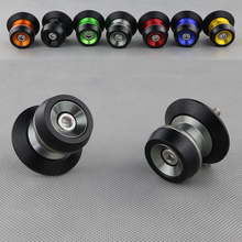For BMW S1000RR HP4 S1000R S1000XR Motorcycle Accessories CNC Aluminum Swingarm Spools Slider Stands Bobbins Screws