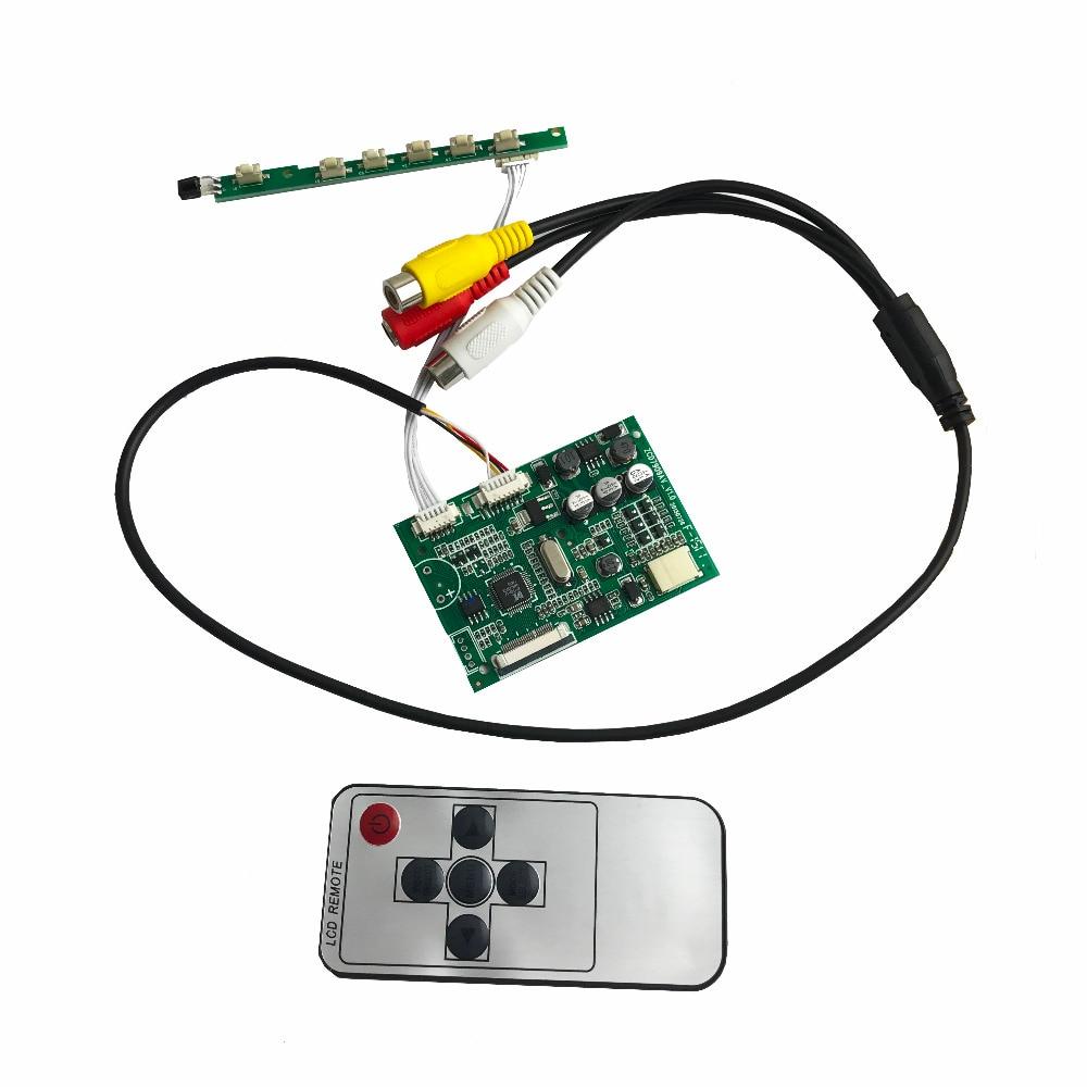 AT070TN07 Driver Board 7inch 26pin TFT Specific Analog RGB For LED Screen Car Monitor Display AV Board