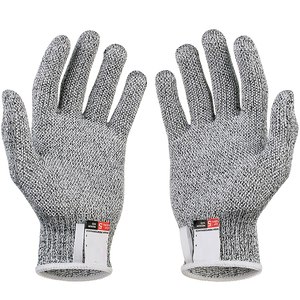 Image 2 - Anti cut Gloves Safety Cut Proof Stab Resistant Stainless Steel Wire Metal Mesh Kitchen Butcher Cut Resistant Safety Gloves