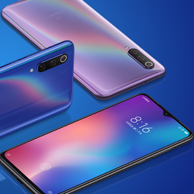 Global Version Xiaomi Mi 9 Mi9 6GB 128GB Snapdragon 855 48MP Triple Camera AMOLED Mobile Phone Fingerprint Wireless Charging NFC