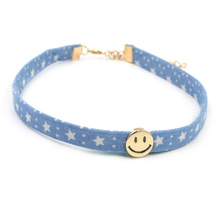 Jeans Smile Choker