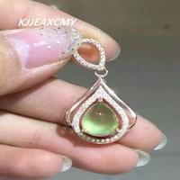 KJJEAXCMY boutique jewelry,Ladies natural pendants pendants jewelry wholesale S925 Sterling Silver women