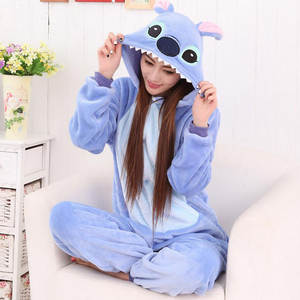 Pajamas Winter Women Lovers And Cartoon The Flannel of Such Linked Animal Sweet