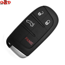 HKOBDII 3+1 Buttons For Jeep Fobik Smart Remote Car Key Chrysler 433Mhz 7953A Chip
