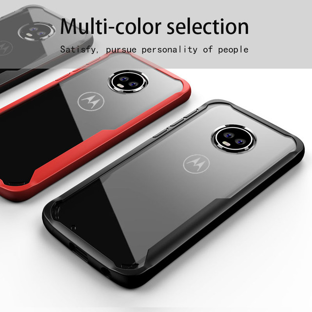 wholesale dealer b8325 42a9e US $3.11 35% OFF|Case For Moto G5s Plus Case Cover For Moto G6 Plus Coque  Transparent Back Cover For Moto E5 Plus Case For Moto Z2 Z3 Play Fundas-in  ...