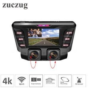 4K Dash Cam hidden Wifi Car DV