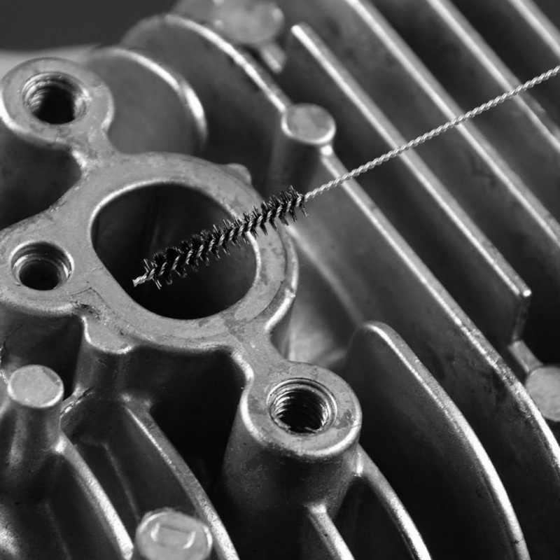 2019 Auto Motor Carburateur Carbon Vuil Jet Verwijderen Naalden + Borstels Cleaning tools tubing Wegvangen Verstopping Janitorial Leverancier