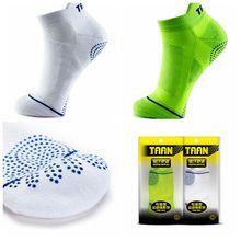1 пара мужские носки TAAN нескользящие для ракеток для бадминтона и тенниса спортивные носки толстые хлопковые носки T-347