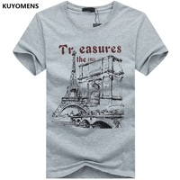 KUYOMENS Men t-shirt Plus Size Tee Shirt Homme Summer Short Sleeve Casual Men's T Shirts Male TShirts Camiseta 3D T shirt Homme 3