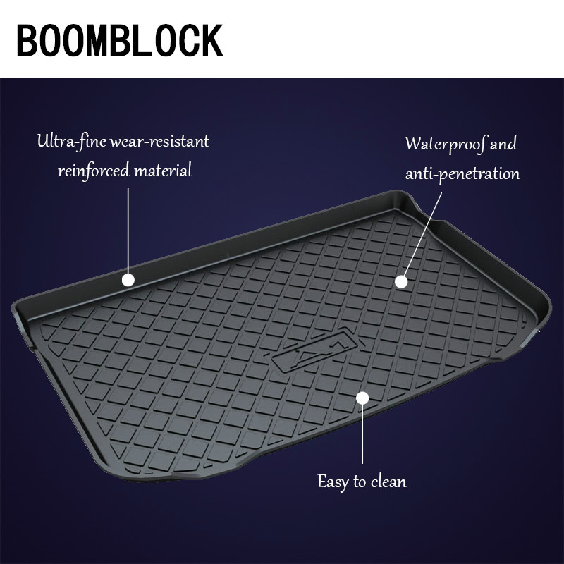 BOOMBLOCK Car Special Trunk Floor Foot Mat Non-slip Dustproof Interior Accessories For Audi A1 A3 A4 A5 A8L Q3 Q5 Q7 TT B8 B9BOOMBLOCK Car Special Trunk Floor Foot Mat Non-slip Dustproof Interior Accessories For Audi A1 A3 A4 A5 A8L Q3 Q5 Q7 TT B8 B9