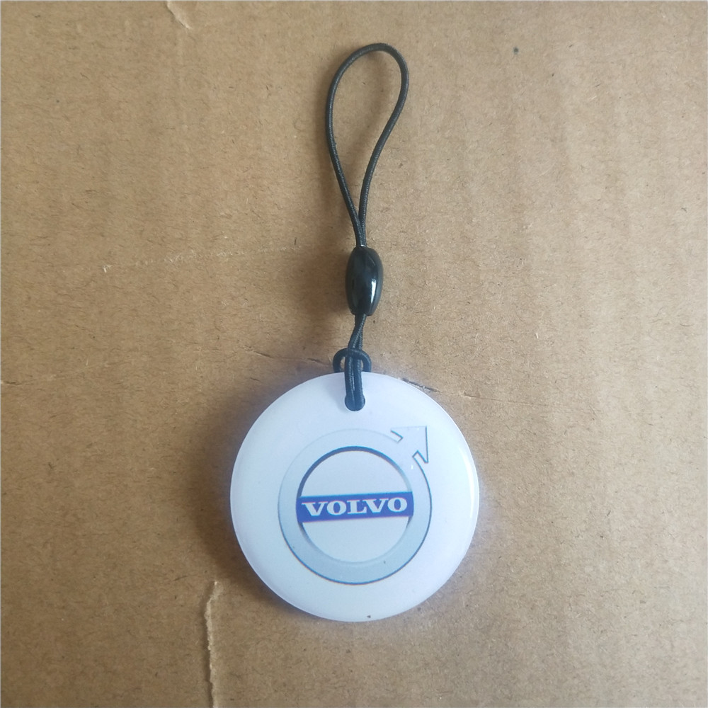 EM4305 Copy Rewritable Writable Rewrite Keyfobs RFID Tag Key Ring Card 125KHZ Proximity Token Access Control Transparent Color