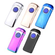 New Bat Electronic Cigarette Lighter Best USB lighter with Double Arc USB Gadget For Men Novelty