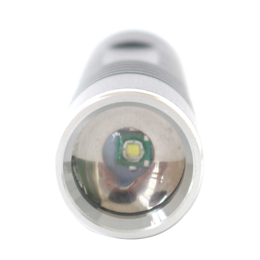 Litwod S5 XM-L2 U3 T6 1000LM Mini flaş ışığı alüminyum su geçirmez zumlanabilir LED el feneri Torch işık kamp için, balıkçılık