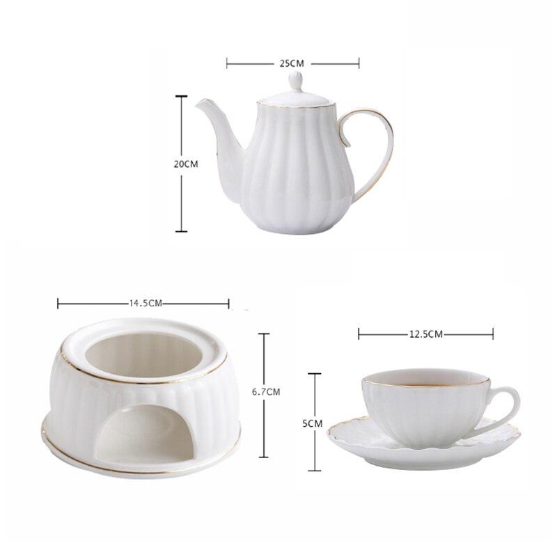 Northern European simple coffee set European ceramic cup gift English afternoon tea coffee cup set tea set