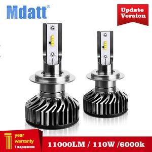 Mdatt Bright ZES H7 LED Canbus