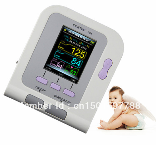 CONTEC08A Digital Infant Blood Pressure Monitor+6-11cm Cuff wholesale contec08a digital infant blood pressure monitor 6 11cm cuff