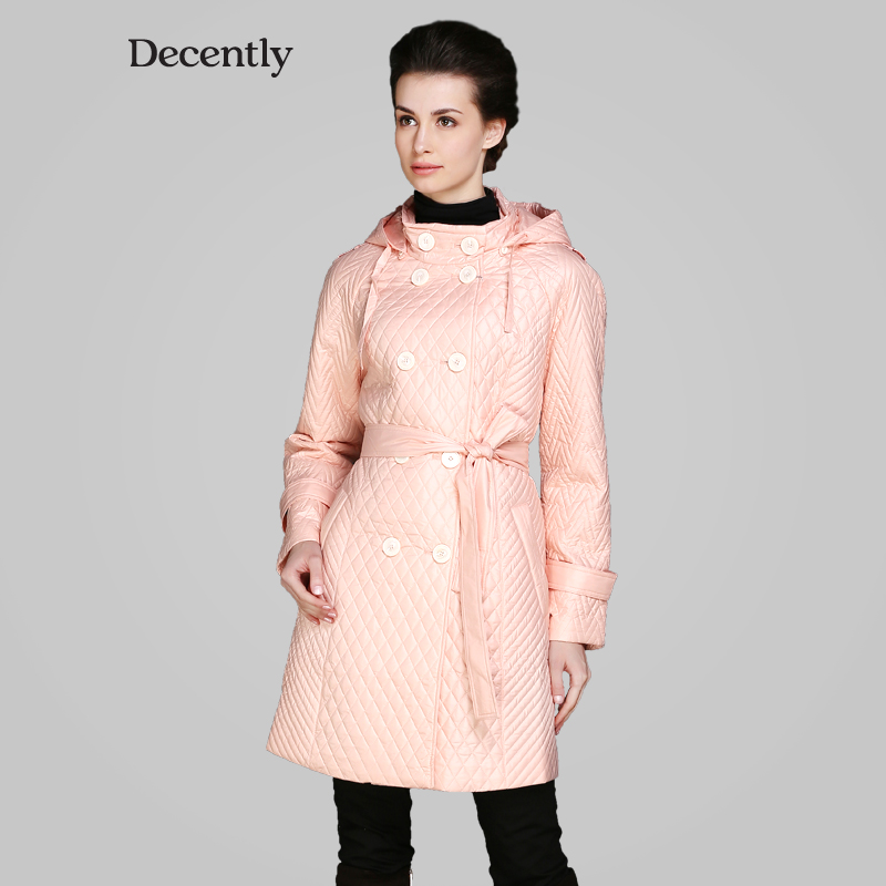 Decently 2015 New women winter coat Cotton Fashion Short Slim Warm Pocket Zipper Hooded Free Shipping 1A7446-1 free shipping boruoss 2015 new fashion winter cotton coat women short single breasted coat boruoss w1292