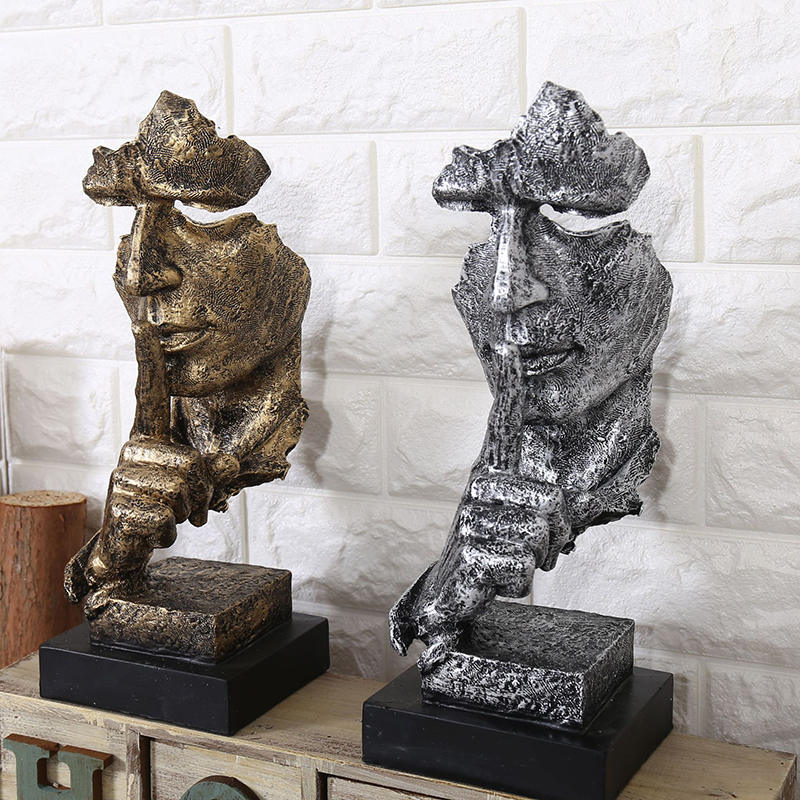 BUF Dekoration minimalistische Statue Mode Abstrakte Ruhige - Wohnkultur - Foto 5