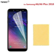 Clear LCD Screen Protector for Samsung Galaxy A6 Plus 2018 Protective Film for Samsung A6 Plus 2018 Screen Protector Film Foil pudini protective clear screen protector film guard for samsung galaxy express i8730 transparent
