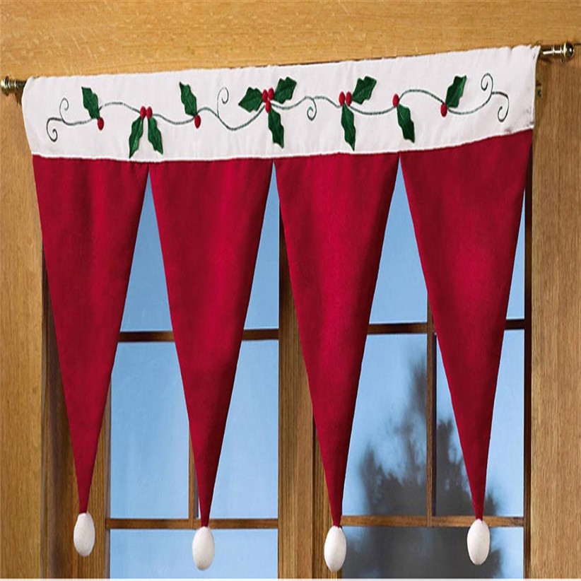 Compra cubierta de la puerta de navidad online al por for Decoracion del hogar por navidad