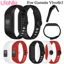 Watch band For Garmin Vivofit 3 Soft Silicone Replacement Wrist Band Strap Accessory Wristbands