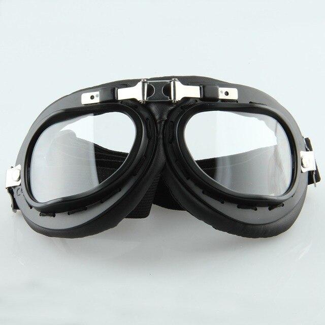 POSSBAY Unisex Óculos Óculos de Proteção Da Motocicleta Do Vintage Homem  Mulheres Ciclismo Motocross Ski Snowboard 943b4a5121