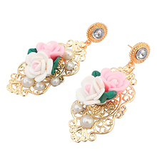 Rhinestone chandelier earrings online shopping-the world largest ...