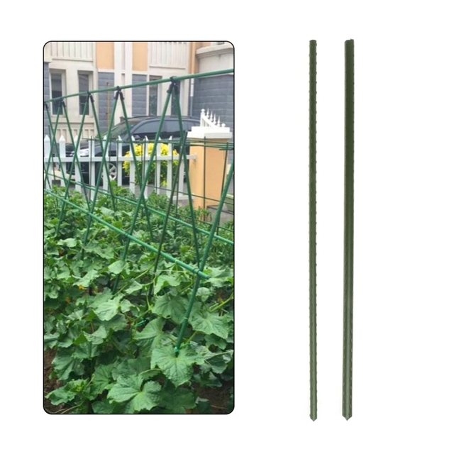 60cm Home Garden Plant Support Stakes Climbing Stand Flower Stick Cane  Gardening Tool