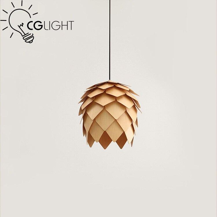 ФОТО European pastoral pine cone pendant lights restaurant cafes bar pendant lamp bedroom dining room kitchen foyer study droplight