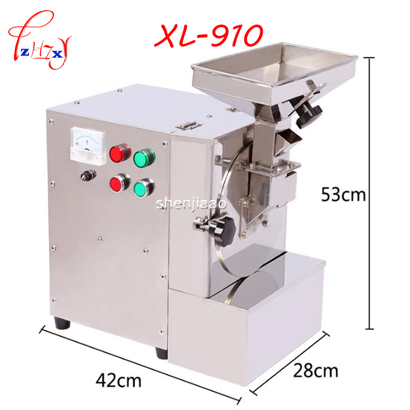 XL 910 2800r min feed grinder for Nuts Almonds Commercial milling Fat Peanuts Sesameseeds Beans Spices