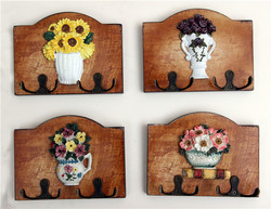 Fashion decoration hook wall coat hang plate home solid wood american style rustic hanging board.jpg 250x250