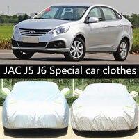 Car special clothes , Car protection cover for JAC J5 , JAC J6