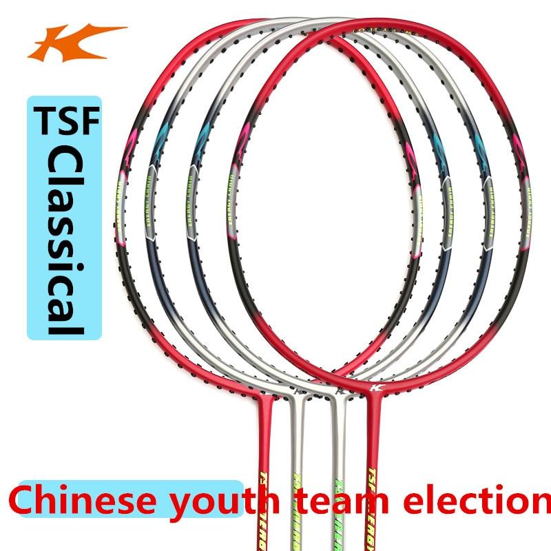 Кесон бадминтон ракетка 105TI-LTD 105TI новый цвет TSF105 хорошее качество высокое экономичное Китай молодежная команда спонсор L705OLB
